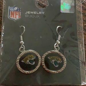 NFL earrings Jacksonville Jaguars